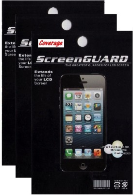 Coverage Pack of 3 Screen Guards for Micromax Canvas Nitro 3 E455 Screen Guard for Micromax Canvas Nitro 3 E455