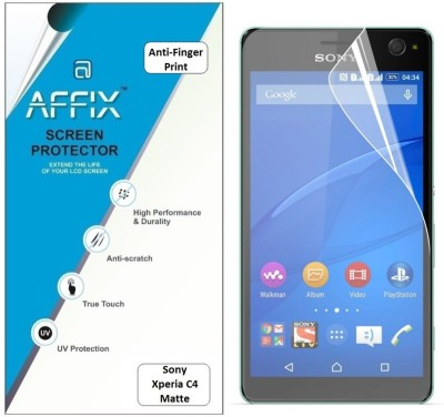 Affix AFXP1AFP041 Anti-Finger Print Screen Guard for Sony Xperia C4