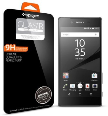 Spigen SGP11777 Tempered Glass Screen Guard for Sony Xperia Z5