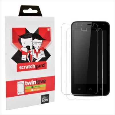 Scratchgard Original Twin Pack - (Wave) Screen Guard for Intex Aqua Wave