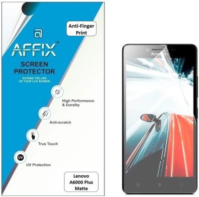 Affix AFXP1AFP021 Anti-Finger Print Screen Guard for Lenovo A6000 Plus