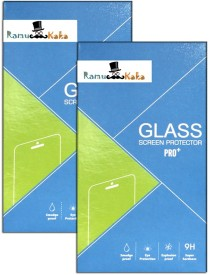 RamuKaka In_177(Pack of 2) Tempered Glass for Intex Aqua Y4