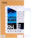 TopQ I6sp H+Pro Anti-Explosion  Full Cove Clear White Tempered Glass For Apple Iphone 6s Plus