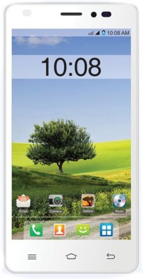 Intex Intex Aqua Life 2 (White, Orange, 8 GB)