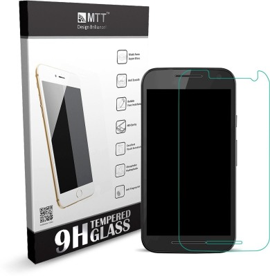 MTT Premium Smooth Edge Tempered Glass for Moto G Turbo Edition
