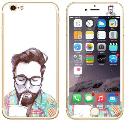Dress My Gadget Neirdo Designer Front & Back Tempered Glass for iPhone 6