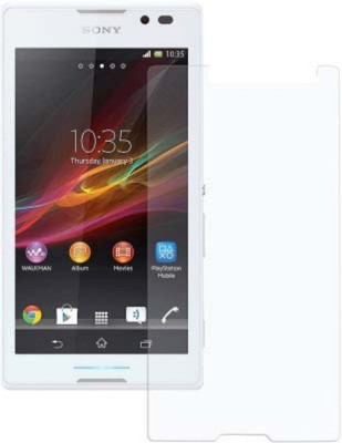 PKT Freescratch Tempered Glass for Sony Xperia C