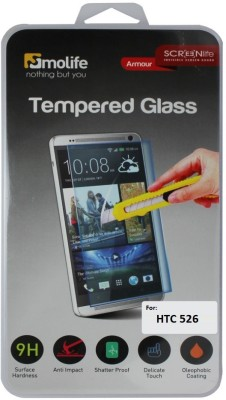 Molife TG55 Tempered Glass for Htc 526