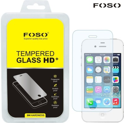 FOSO Apple iPhone 4/4S Tempered Glass for Apple iPhone 4/4S