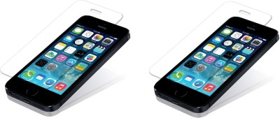 Saihan 2 Pack of Premium Quality Screen Protector for Iphone 5s Tempered Glass for Iphone 5s