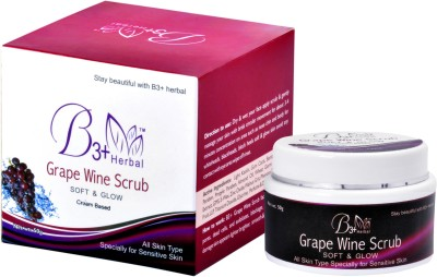 B 3+ Herbal Scrubs B 3+ Herbal Grape Wine Scrub