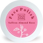 Auravedic Scrubs Auravedic Radiance by Nature Face Polish with Saffron Almond Rose Scrub