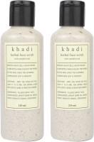 Khadi Sandalwood In A Bottel Pack Of 2 Scrub (420 Ml)