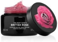 The Body Shop British Rose Body  Scrub (250 Ml)