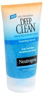 Neutrogena Scrubs Neutrogena Deep Clean Invigorating Foaming Scrub
