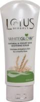 Lotus Herbals Whiteglow Oatmeal & Yogurt Skin Whitening  Scrub (100 G)