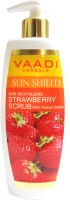 Vaadi Herbals Strawberry Scrub with Walnut Grains Scrub: Scrub
