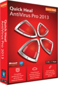 Buy Quick Heal AntiVirus Pro 2013 1 PC 1 Year: Security Software
