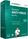 Kaspersky Anti-Virus 2014 1 PC 1 Year: Security Software
