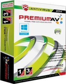 PremiumAV Anti Virus 2014 3 PC 1 Year