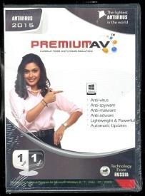 PremiumAV Anti Virus 2015 1 PC 1 Year