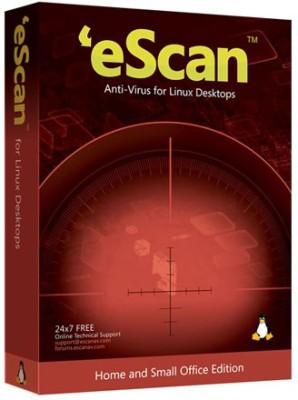 eScan Anti-Virus For Linux Desktop 1 User 1 Year