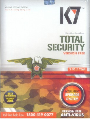 Buy K7 Total Security 3 PC 1 Year: Security Software