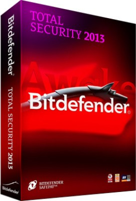 Buy Bitdefender Total Security 2013 1 PC 1 Year: Security Software
