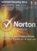 Norton Internet security 2012 1 PC 1 Year: Security Software