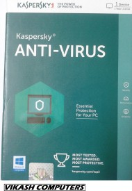 Kaspersky Antivirus 2016 1 PC 1 Year