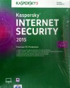 Kaspersky Internet Security 2015 1 PC 3 Year: Security Software
