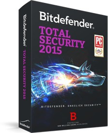 Bitdefender Total Security 3 PC 1 Year 2015