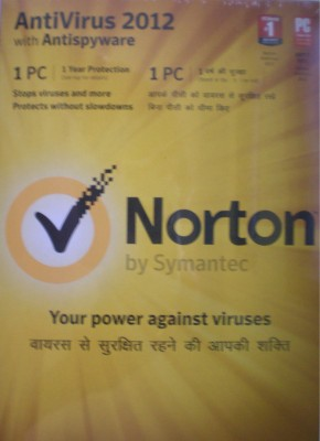 Buy Norton AntiVirus 2012 1 PC 1 Year: Security Software