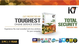 K7 Total Security 2 PC 1 Year (Activation card)