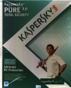 Kaspersky Pure 3.0 Total Security 1 PC 1 Year: Security Software