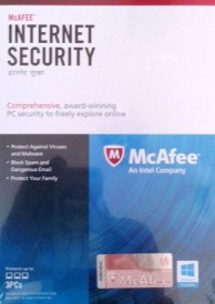McAfee Internet Security 3 PC 1 Year