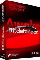 Bitdefender Antivirus Plus 2013 3 PC 1 Year: Security Software