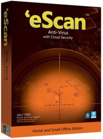 eScan Anti-Virus With Cloud Security 3 Users 1 Year