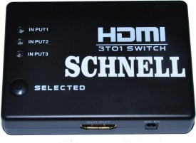 Schnell Hdmi 3x1 Switch Media Streaming Device