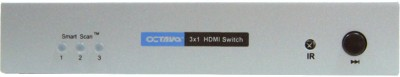 Buy Octava 3x1 HDMI Switch Selector Box: Selector Box