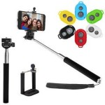 Eshaan Stick with Bluetooth Remote Gionee Phones Monopod Kit Selfie Stick