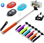 Eshaan Stick with Bluetooth Remote HTC Phones Monopod Kit Selfie Stick