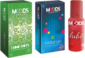 Moods 1500 Dots & Melange Combo with Lube