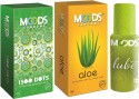 Moods 1500 Dots & Aloe Combo With Lube - Pack Of 3