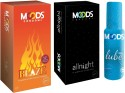 Moods Blaze & Allnight With Lube - Pack Of 3