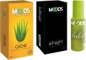 Moods Aloe & Allnight Combo With Lube - Pack Of 3