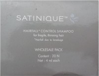 Amway Satinique Hair Fall Control Shampoo (4 Ml)
