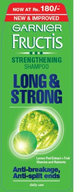 Garnier Fructis Fortifying Long & Strong Shampoo with MRP Offer