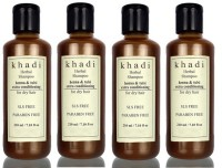 Khadi Herbal Henna & Tulsi Extra Conditioning Shampoo (SLS, Sulfate & Paraben Free) (840 Ml)