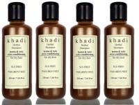 Khadi Herbal Henna & Tulsi Extra Conditioning Shampoo (SLS, Sulfate & Paraben Free) (840 Ml)